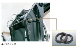 ハードロックベアリングナットの使用により作業性向上・ゆるみ問題解消・コスト大幅削減に成功!